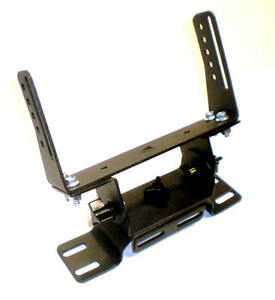 Heavy Duty CB Radio Adjustable Floor Mount  Bracket - All the COBRA 29 SERIES