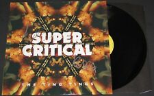 TING TINGS SIGNED SUPER CRITICAL LP VINYL RECORD ALBUM W/COA KATIE WHITE