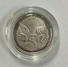 2017 5 cent proof coin
