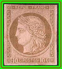 FRANCE / COLONIES 1876 SC#20//Yt#18 MHH OG CV280+Euro