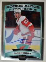 2019-20 OPC Platinum Rookie Auto #R-TH Taro Hirose - Detroit Red Wings