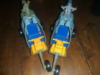 Vintage 1986 Kenner The Real Ghostbusters ECTO 2 x2 Helicopter