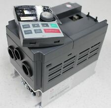 1.5KW (2HP) single to 3 phase VFD Freq upto 400Hz Motor speed VSD Dual display