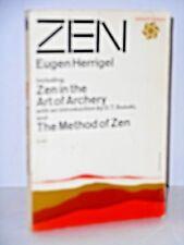 """ZEN; including """"Zen in the art of Archery"""" intro D.T. Suzuki & The method of Zen"""