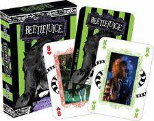 BEETLEJUICE - PLAYING CARD DECK - 52 CARDS NEW - MOVIE KEATON BURTON 52322
