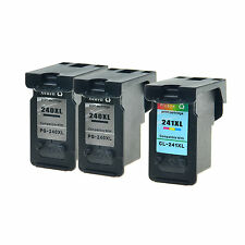 Compatible with Canon 2PK PG 240XL + 1PK CL 241XL Ink for PIXMA MG2120 MX479