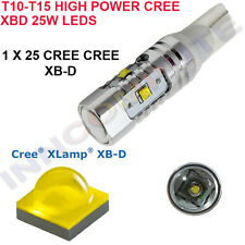 W5W W16W 501 T10 T15 HIGH POWER CREE R4 LED 25W