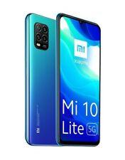 """Xiaomi Mi 10 Lite Dual Sim 5G 128GB+6GB RAM 6.57"""" Smartphone AURORA BLUE"""