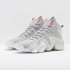 new style 7c50f 39dc4 New ADIDAS ORIGINALS CRAZY 8 ADV PRIMEKNIT SZ 13 GREY HI RES RED WHITE  CQ1013