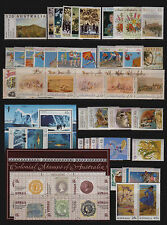 Australia 1990 Mint unhinged  Year collection stamps.S