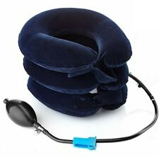 Collare Per Trazione Cervicale Collo 3 Strati Ad Aria Cuscino Gonfiabile cir