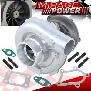 .63AR 8 Blade Compressor T3/T4 Turbo Charger B-Series Turbocharger Boost Racing