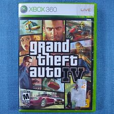 Grand Theft Auto Iv Gta 4 (Microsoft Xbox 360. 2008) Cib with Map