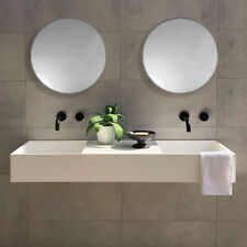 DOUBLE Wall Hung Stone Solid Surface Wash Basin Vanity 1200 mm
