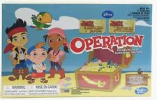 Hasbro Disney Jake & The Never Land Pirates OPERATION Treasure Hunt Game