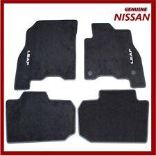 Genuine Nissan Leaf 2018 EV Velour Carpet Floor Mats. KE7555S001 New!