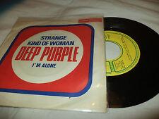 "DEEP PURPLE ""STRANGE KIND OF WOMAN/I'M ALONE"" 7"" YUGOSLAVIA"