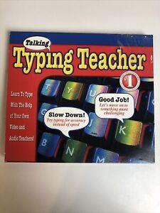 Cosmi Talking Typing Teacher PC CD Video Coaching Learn To Type