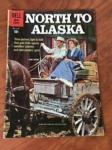 North to Alaska #1155 John Wayne Dell Comics Four Color 1960 VG-