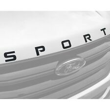 2015-2019 Ford Edge Hood SPORT Decal Sticker (Glossy Black)