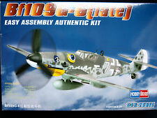 Bf 109 G-6 (late) - easy assembly authentic kit, hobby boss, échelle 1/72