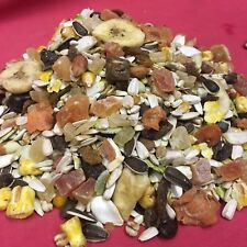 Parrot Cockatiel Treats 600g 57% Fruit & Nut Healthy Option 7 Fruits 6 Nuts