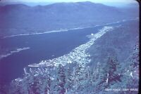 KETCHIKAN CANADA FROM DEER MOUNTAIN 1952 VINTAGE SLIDE BIRDS EYE VIEW SEE PHOTOS