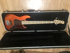 Marcus Miller Sire V7 5 string bass with hard case