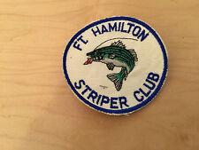 vintage striper club patch,brooklyn,Ny,ft. hamilton, new old stock ,1960's