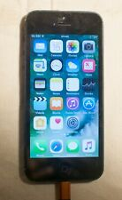 iPhone 5 - black - 16GB - works fine except for top button