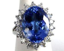 Routinely Enhanced Tanzanite Diamond Fine Jewellery