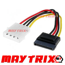 MA-SX01 Maytrix PC SATA to MOLEX Hard drive HDD / DVD 4 Pin to 15 Pin Adapter