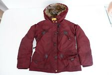 Parajumpers Masterpeice Series Kids Coat, Size Age 10, Think Padded, Red, GC