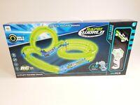 UK Battery Slot Car Race Track Set Kids Radio Control Racing Toy Game Xmas Gift