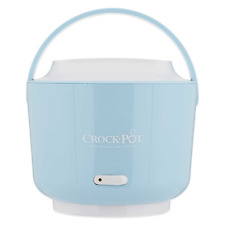 24 Oz Lunch Crockpot Crock Food Warmer Container Hot Electric Heated Holding