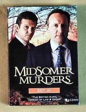 Midsomer Murders: Set 21 (DVD, 2013, 4-Disc Set)