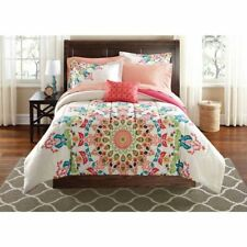 Mainstays Medallion Bed-in-a-Bag Bedding Set Twin/Twin Xl  00004000 New Free Shipping