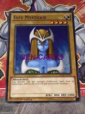 Carte YU GI OH ELFE MYSTIQUE YGLD-FRA14 x 3