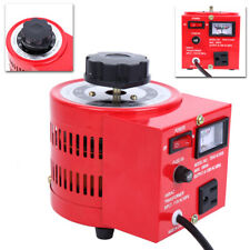 Autotransformer Transformer Ac Variable Voltage Regulator Metered 5amp 110v