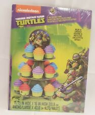 Teenage Mutant Ninja Turtles Cup Cake Stand 3 tier - Holds 24 Cupcakes Birthday