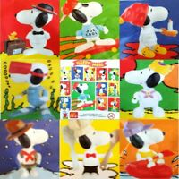McDonalds Happy Meal Toy 2000 Build Your Own Snoopy Plastic Figures - Various