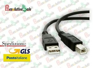 CAVO STAMPANTE USB 2 METRI HUC004 EXTRASTAR CV004-CS