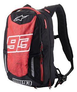 Alpinestars MM93 Jerez V2 Backpack Gr. 25L - Schwarz Rot