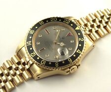 VINTAGE ROLEX OYSTER PERPETUAL GMT MASTER SULTAN/RUBIN REF.: 16718 PAPIERE/BOX