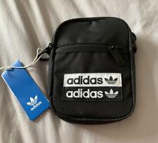 Adidas Originals Black Small Trefoil Festival Bag BNWT - Cross Body