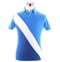 Tommy Hilfiger Men Short Sleeve Custom Fit Pique Polo Shirt -$0 Free Ship