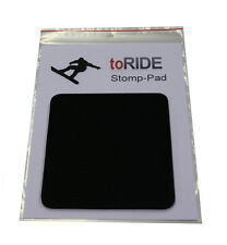 toRIDE Snowboard Stomp Pad Mat - Professional Neoprene Black - Raceboard - NEW