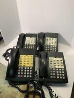 4 Lucent/ Avaya Partner Series 18 Business Telephone Black Phones 7311H13D-003