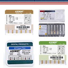Dental Rotary Super Niti Endo Engine Use Endodontics Gold Taper Files 25mm Sx F3