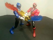 "Power Rangers Samurai action figures with swords 2011 5.5 "" tall"